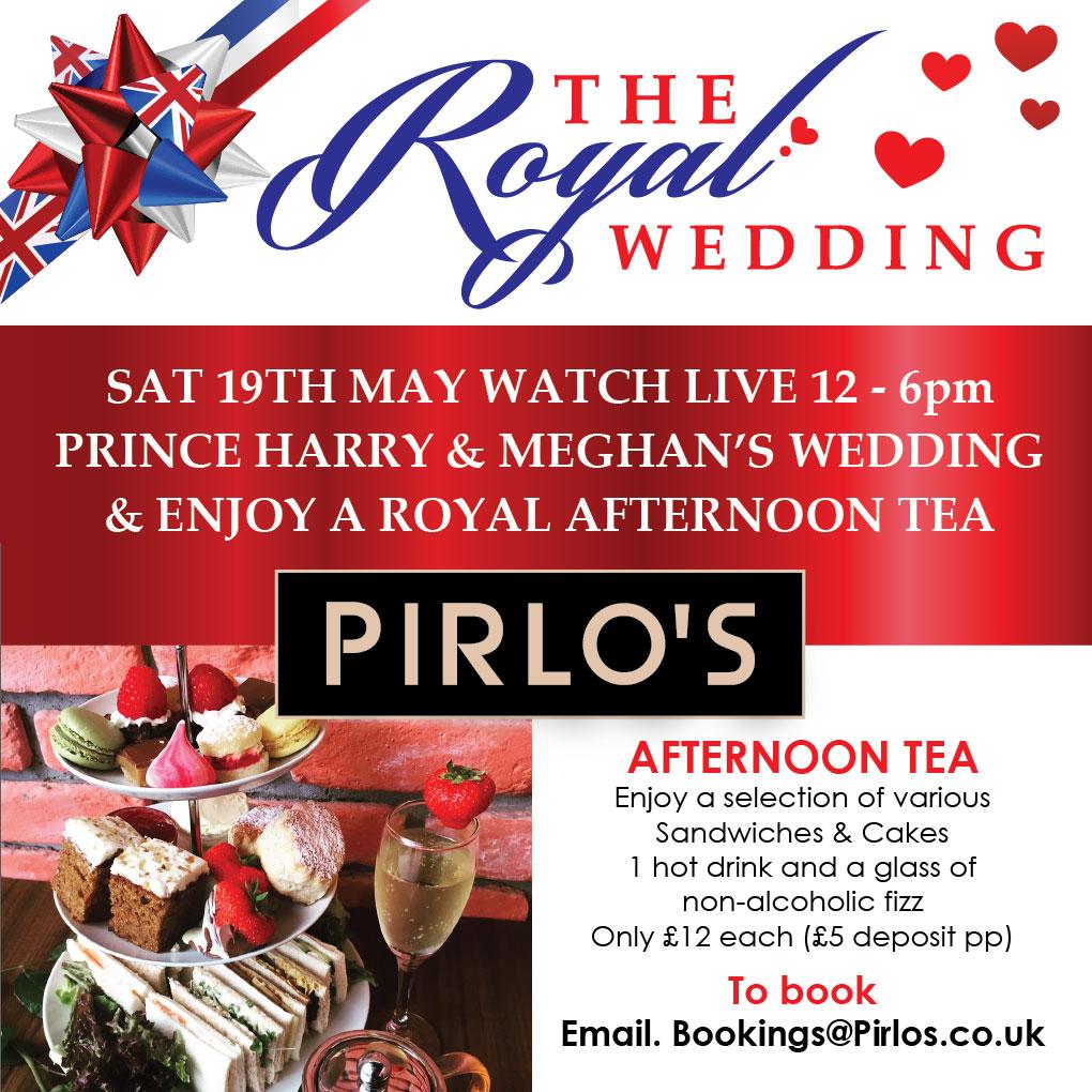Celebrating the Royal Wedding