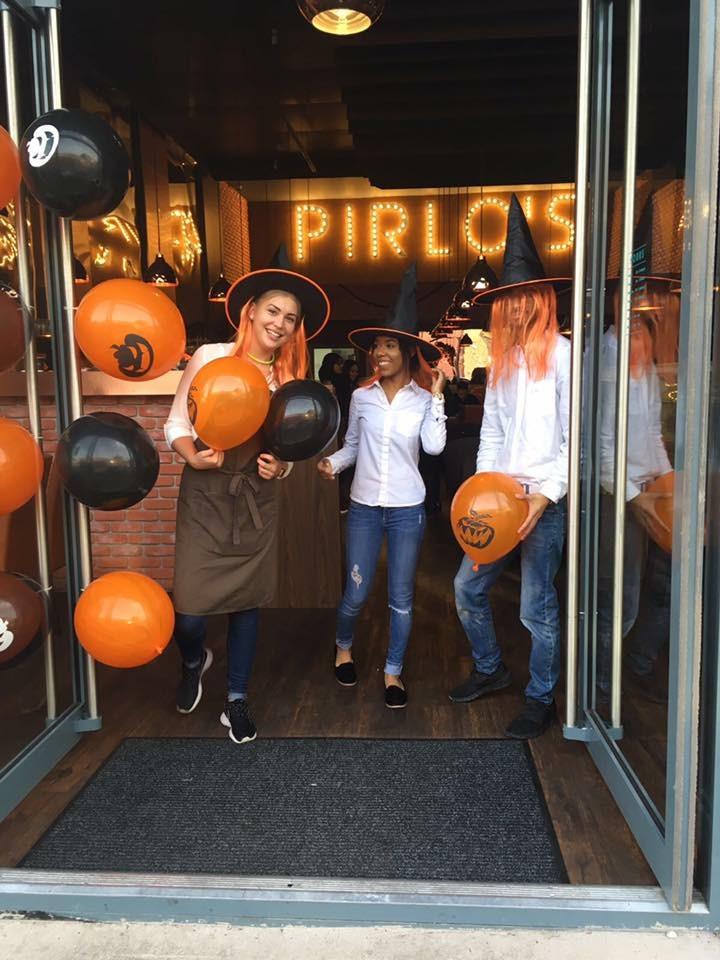 Our staff enjoying Halloween